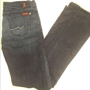 Sz 28 7 For All Mankind Bootcut Jeans